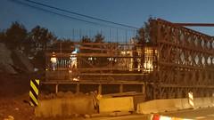 Wideka noc wiadukt (Anioowy) Tags: pkp kolej budowa wiadukt wideka
