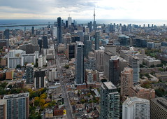 One Bloor (Marcanadian) Tags: street city autumn homes toronto ontario canada building fall rooftop skyline architecture one construction downtown cityscape gulf view great east yonge development bloor yorkville hariri 2015 pontarini