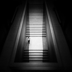 (Svein Skjåk Nordrum) Tags: blackandwhite bw man berlin lines architecture stairs noir perspective stairway explore staircase nero neuesmuseum davidchipperfield explored