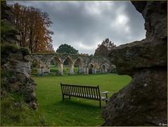 Hailes Abbey, Gloucestershire (Hector Patrick) Tags: castles gloucestershire winchcombe cistercians hailesabbey flikrelite ricohgrii lightroom6