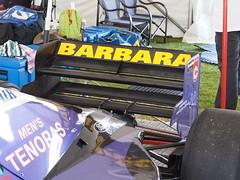 Simtek S951 Formula 1 Car (Anthony's Olympus Adventures) Tags: formula one car adelaide motorsport festival f1 grand prix south australia domenico schiattarella mimmo s951 retro mtv babara cosworth v8 cars vehicle racing olympusem10 omd microfourthirds