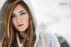 In the snow (Stephanie Toma) Tags: snow girl mujer model nikon women shoot photoshoot nieve modelo 200 18 sesion ll vr d7000