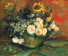 vangogh_still_life_with_roses_sunflowers_1886 (Art Gallery ErgsArt) Tags: museum painting studio poster artwork gallery artgallery fineart paintings galleries virtual artists artmuseum oilpaintings pictureoftheday masterpiece artworks arthistory artexhibition oiloncanvas famousart canvaspainting galleryofart famousartists artmovement virtualgallery paintingsanddrawings bestoftheday artworkspaintings popularpainters paintingsofpaintings aboutpaintings famouspaintingartists