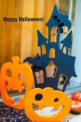 Happy Halloween! (Yorkey&Rin) Tags: autumn halloween japan tokyo october olympus rin 10月 代官山 ハロウィーン 2015 東京都 em5 daikannyama lumixg20f17 pc237820