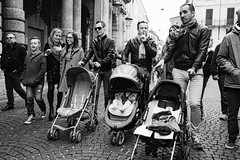 Fathers in modern Times (stefano.roccato) Tags: moderntimes fathers blackandwithe