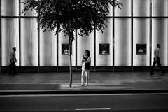 Woman smoking in CBD (mestevie) Tags: from street woman sun hot tree afternoon sydney documentary streetlife delete relief fujifilm streetphoto cbd dailylife smokes beneath seeking whilst onthestreets xf35 streetphotographers a streetbw igstreets beststreets streetbwcolor streetphotographytoday