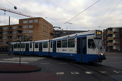 GVBA tram 794 Amsterdam Toministraat (Arthur-A) Tags: netherlands amsterdam museum nederland tram streetcar tramway ema museumtram strassenbahn electrico tranvia gvb tramvia blokkendoos gvba