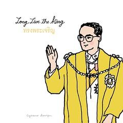 🙏🙏🙏 ขอพระองค์ทรงพระเจริญยิ่งยืนนาน ด้วยเกล้าด้วยกระหม่อม ขอเดชะ ข้าพระพุทธเจ้า นางสาวสาลินี รัตนชัยสิทธิ์ และครอบครัว • #OurBelovedKing #LongLiveTheKing #KingOfThailand #Thailand #CyranoDesign