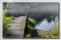 Milton Pond Landing (Bill McKenzie / bmphoto) Tags: light landscape scotland scenic best loch milton aberfoyle lochard scottishviewpoint miltonponds
