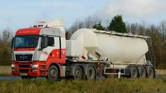 ML59 AGY (panmanstan) Tags: man truck wagon motorway yorkshire transport lorry commercial newport vehicle freight tanker bulk m62 haulage hgv tgx