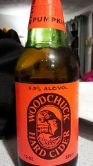 Woodchuck Hard Cider Private Reserve Pumpkin (Pak T) Tags: pumpkin bottle vermont drink beverage cider middlebury woodchuck alcohol hardcider privatereserve untappd samsunggalaxys2 woodchuckcidery