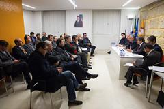 Reunião da Secretaria-Geral com a Distrital de Braga