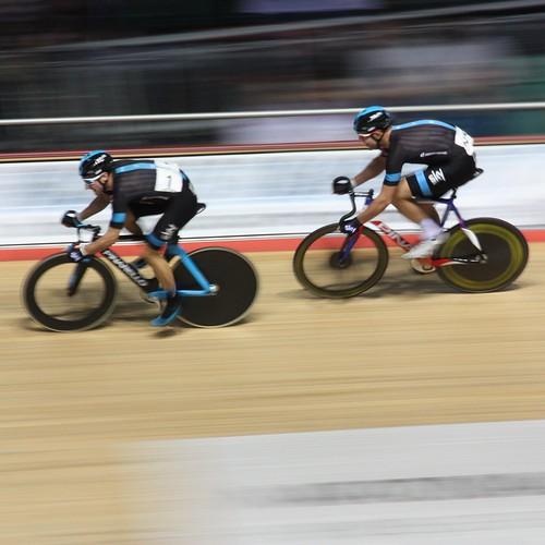 Elia Viviani & Ian Stannard Team Sky