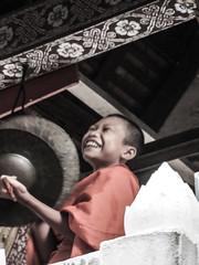 """Luang Prabang: le temple Vat  Sene Soukharam <a style=""""margin-left:10px; font-size:0.8em;"""" href=""""http://www.flickr.com/photos/127723101@N04/23787004611/"""" target=""""_blank"""">@flickr</a>"""