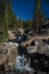 Waterfall in volcanic rock (speedcenter2001) Tags: anseladamswilderness sierranevada sierra sierraphile highsierra california mountains wilderness hiking outdoor backpacking backcountry