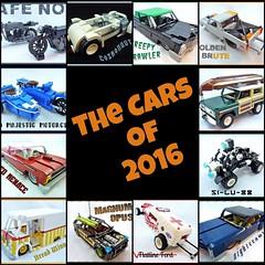 The LEGO cars of 2016 (Lino M) Tags: fdsflickrtoys lego cars lugnuts lino martins 2016 year bikes trucks