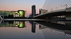 VLC, L'Assut d'Or Bridge by Calatrava (gerard eder) Tags: architecture architektur arquitectura ciudaddelasartesyciencias stadtderkünsteundwissenschaften cityofartsandsciences calatrava santiagocalatrava valencia world travel reise viajes spain spanien europa europe españa sunset sonnenuntergang bluehour bridges brücken puentes