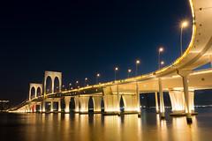西灣大橋 (Billy Photography +) Tags: 西灣大橋 澳門 macau bridge pontedesaivan evening night