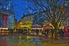 Couleurs de fêtes  à Besançon no. 5567. (Izakigur) Tags: flickr izakigur france besançon red yelow couleurs hope nikkor nikond700 nikkor2470f28 night evening urban lechalet vinchaud topf25 100faves 200faves 250faves 300faves