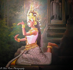 Khmer apsara dancer (kuntheaprum) Tags: simplykhmer khmerart