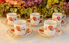 Royal Crown Derby Porcelain Demitasse Cups & Saucers ~ Bali Rust Cobalt Gold (Donna's Collectables) Tags: royal crown derby porcelain demitasse cups saucers ~ bali rust cobalt gold