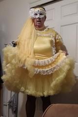Yellow 2 (Maid Honey) Tags: sissy maid