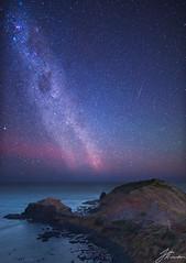 Milky Way   Cape Schanck (Jake Richardson Photography) Tags: milky way space stars galaxy sky aurora australis red blue lights cape schanck melbourne victoria australia nikon d610 long exposure le astrometrydotnet:id=nova1910054 astrometrydotnet:status=failed