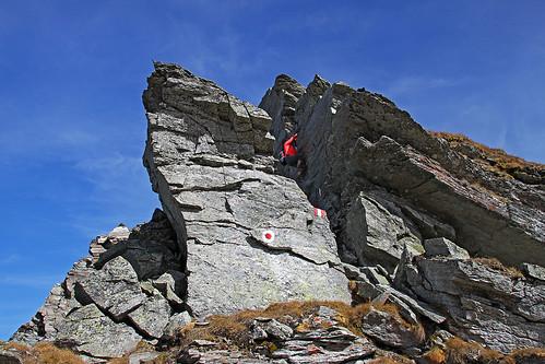 Wandspitze, W ridge