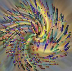 Swirligigs (Cathy Donohoue) Tags: cathydonohouephotographynaturephotography macrophotography toothpicks
