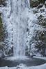 Multnomah Falls on Ice (Synapped) Tags: multnomah falls oregon waterfall ice winter base bottom water frozen freeze