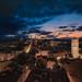 Sunset over Logroño