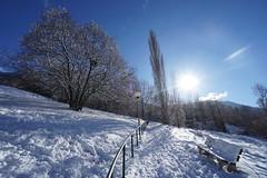 Chemin enneigé (yoduc73) Tags: neige soleil contrejour moutiers tarentaise