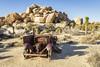 Broken Down (squeemu) Tags: joshua tree national park hike hiking nature truck wreck ruin desert california rocks