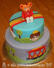 Daniel Tiger Themed Birthday Cake