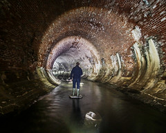 Tunnel Vision (Craig Hannah) Tags: culvert bighumpty medlock rivermedlock underground river longexposure lightpainting 2017 craighannah explore manchester greatermanchester england uk