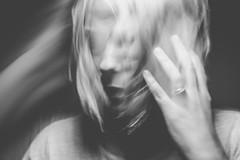 Where is my mind (gabriela.oliver) Tags: portrait oca longexposure selfportrait blackwhite monochrome ghost exercise blackandwhite
