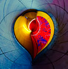 Heart of Ice by Simon & His Camera (Simon & His Camera) Tags: red yellow blue heart architecture distorted abstract art colours lines curve pattern simonandhiscamera bright