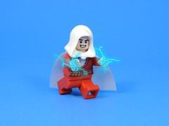 Shazam!!! (MrKjito) Tags: lego minifig super hero comics comic dc shazam custom minifigure electricity waterslide decal
