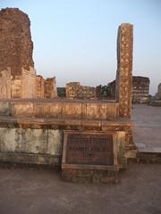 Ashrafi Mahal, Mandu, Madhya Pradesh, India (Harshit Trivedi's Photography) Tags: mahal ashrafi mandu madhya pradesh india tourism historical tourist muslim architecture building 17th century mughal steps destroyed dhaar mohammad khilji tomb city