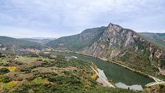 Peñarrubia dam (GC - Photography) Tags: naturalpark parquenatural naturaleza nature orense galicia españa spain embalse dam water agua landscape verde green azul blue gcphotography