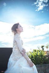 XX Wedding Gown Outdoor (Alphone Tea) Tags: 6d 2016 ef2470mmf28liiusm 2470 chinese light singapore brighten great print facebook atphotography famous bokeh nice naturelight white like wedding mbs party event closeup soft ring dinner bigday married marry asia prewedding happy bride amazing favourite beautiful pretty lady lovely love lovestory outdoor 1st album gown evening sunset travel fly oversea blue malaysia