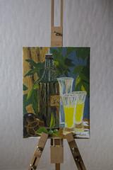 Finished (explore) (Rudi Pauwels) Tags: fotosondag kreativ fs170205 sverige sweden schweden home painting frenchmotive pernod pastis petanque dreamingoffrance tamron 18270mm tamron18270mm nikon d7100 d7