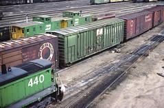 CB&Q Class XM-4 47671 (Chuck Zeiler) Tags: cbq class xm4 47671 burlington railroad box car boxcar freight cicero chz chuck zeiler