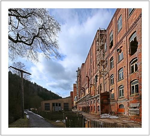 Industrierelikte im Elbsandsteingebirge