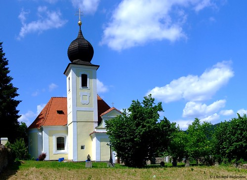 Vrané nad Vltavou - Kostel sv. Jiří (Wran an der Moldau - Kirche St. Georg)