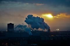 Steel Works (ash_wood07) Tags: margam steel wors sun sundset7 sony sunset camra photo