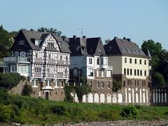 Geschichtsepochen an den Gebäuden