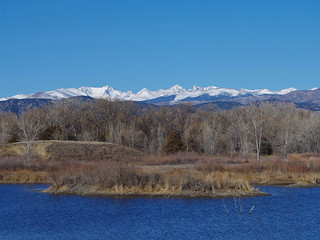 Indian Peaks from Sawhill Ponds
