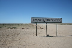 at the Tropic of Capricorn, Namibia (h_savill) Tags: namibia 2017 holiday vacation february safari africa national park solitaire walvis bay desert valley wildlife blue sky