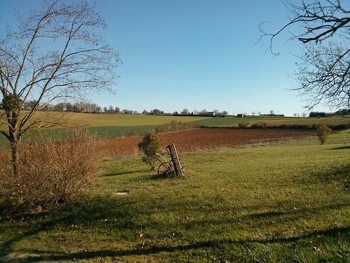 Rural France, Domain La Poujade, Caylus
